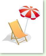 Sonnenschirm grafik  Lob + Koelle GbR · Grafik-Design - Icons, Vignetten & Pictogramme